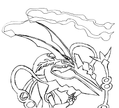 rayquaza coloring pages pokemon rayquaza coloring pages kids