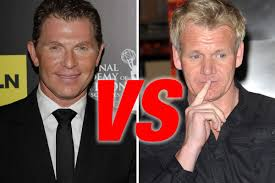 gordon ramsay wimps out won u0027t cook vs bobby flay eater