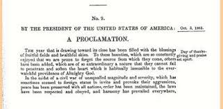 abraham lincoln s proclamation of thanksgiving day explore