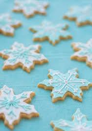snowflake sugar cookies vanilla almond sugar cookies and olive