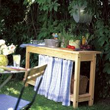 Build Cheap Outdoor Table by Ikea Hack Cheap Ikea Table With Some Simple Add Ons To Make A