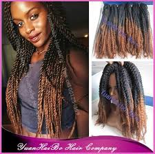 ombre marley hair stock 20 fold ombre black brown synthetic twists ombre kanekalon