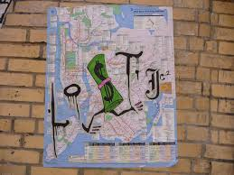 Nyc Subway Map Poster by The Latest In Subway Map Art According 2 G