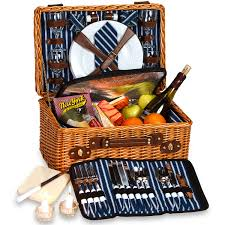 picnic basket set for 2 wynberrie picnic basket wine enthusiast