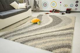 teppiche design shaggy langflor hochflor teppich design 4 muster 5