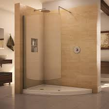 walk in shower with tub fleurco evolution eclipse curved glass walk in shower the best