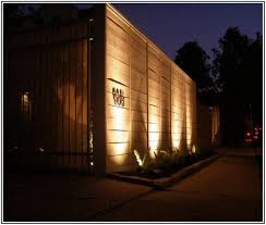 Backyard Solar Lighting Ideas Gorgeous Stylish Ideas Outdoor Fence Lighting Best Outdoor Solar