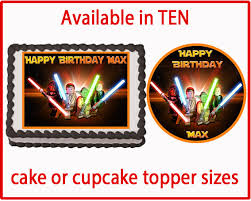 wars edible image lego wars edible cake cookie or cupcake by cakedesignshop