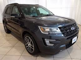 2017 New Ford Explorer Sport 4wd At Fairway Ford Serving