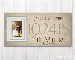 personalized wedding photo frame personalized wedding wood picture frame with wedding date