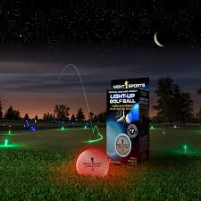 light up golf balls amazon com night sports usa light up golf ball with led putting