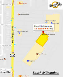 Chicago Brewery Map by About Us Brew City Insurance Agency Inc Independent Insurance