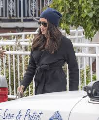 meghan markle spotted for first time since prince harry romance
