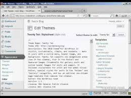 how to edit style css file of your wordpress theme youtube