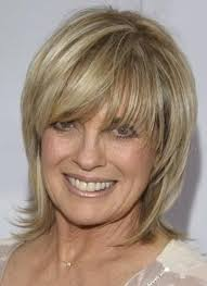 information on shoulder length hair for older women womens medium length layered haircuts