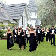 dress code for wedding is a black tie dress code a big turn for wedding guests brides