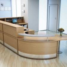 Reception Counter Desk Multiflow Reception Desk Meridian Office Furniture