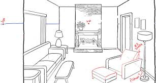 draw room draw room perspective drawing tutorial living tierra este 23708