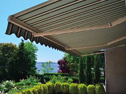 retractable awnings for your deck and patio american sunscreens