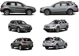 volkswagen suv white outback vs volkswagen tiguan old saybrook new suv crossover