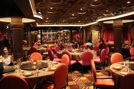 restaurant decorations restaurant review silk on quantum of the seas royal caribbean blog