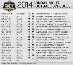 football season is almost here a look at the sunday