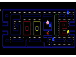 doodle pacman celebrates pac s 30th anniversary with doodle abc news