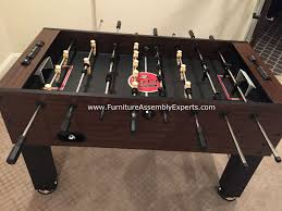 Regency Furniture Outlet In Waldorf Md by Foosball Table Assembly And Installation In Washington Dc Md Va