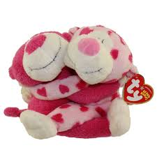 ty romeo u0026 juliet the monkey beanie baby set mint with near tag