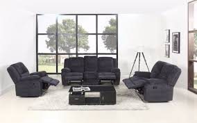 Recliner Living Room Set Asturias Traditional Classic Microfiber Rocker And Swivel Recliner