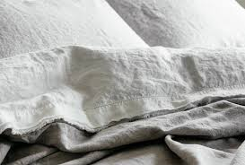 Grey Linen Bedding New From Saphyr Soft Washed French Linen Basics Remodelista
