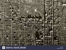 Map Central Park Historical Aerial Map View Above Central Park And Midtown