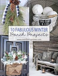 front porch decor ideas 10 wonderful winter front porch projects over the big moon