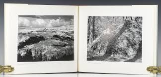 ansel adams yosemite and the range of light poster yosemite and range of light ansel adams first edition signed