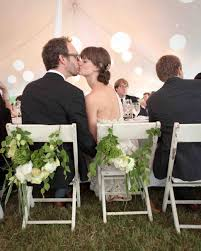 40 pretty ways to decorate your wedding chairs martha stewart
