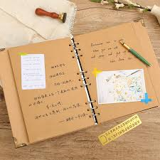 handmade photo album usd 6 00 lorrain nine blank leaf diy paste kraft paper
