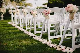 Aisle Markers Natural Outdoor Wedding Decoration Ideas For Your Memorable