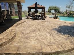 Stamped Concrete Patio Diy Stamped Concrete Gallery Decorative And Stamped Concrete Patios