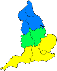 Britain Blank Map by North U2013south Divide England Wikipedia