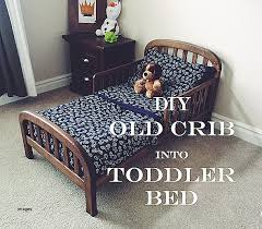 How To Convert A Crib Into A Toddler Bed Toddler Bed Unique How To Convert A Crib Into A Toddler Bed How