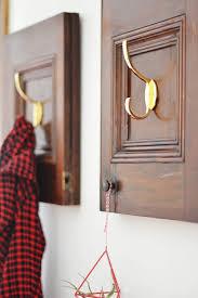 Repurpose Cabinet Doors Repurposed Cabinet Doors Diy Coat Rack