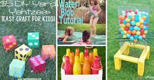 How To Make Backyard Jenga by 38 Easy To Make And Fun Filled Outdoor Party Games For The Family