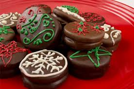 christmas chocolate decorated christmas cookies inspired home candy
