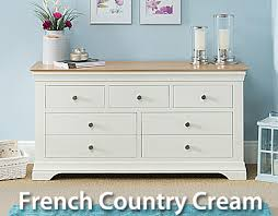 Painted Furniture Grey Cream  White Painted Oak Bedroom - Painted bedroom furniture