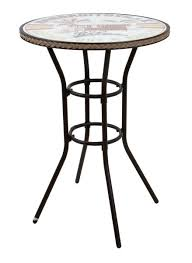 Bar Height Bistro Table Margaritaville Bar Height Bistro Table With Relax Logo