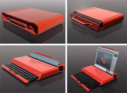 laptop design be mine laptop concept pays homage to classic gadgets