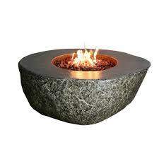Propane Firepit Elementi Fiery Rock 50 In Eco Propane Pit In