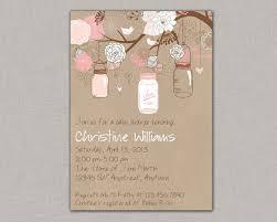 jar baby shower jar invitation ba shower bridal shower jar jar