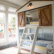 Built In Bunk Bed Magnolia Market This Custom Built Bunk Bed For The