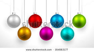 colorful christmas ornament vectors download free vector art